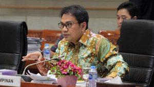 Wakil Ketua DPR RI M. Azis Syamsuddin,