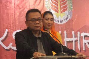 Ketua DPD Partai Gerindra DKI Jakarta, M Taufik. (Foto: Instagram @mtaufik.grd)